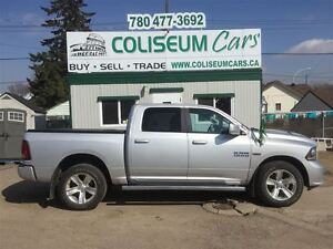 2015 Dodge Ram 1500 SPORT, 4X4, NAV, REMOTE START, ONLY 30KM