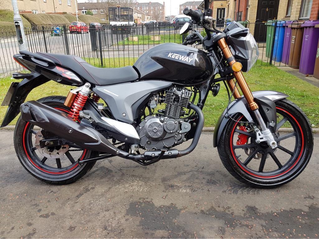 Keeway RKV 125 (2016) FSH Motorbike, Motorcycle, Scooter