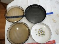 Lakeland and three other flan dishes