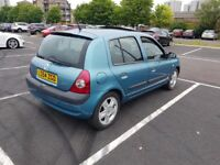 54 Renault Clio 5 door hatchback manual 1.2 *Alloys* Cyclone blue *long MOT* cheap insurance