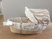 Moses Basket & Stand by Mamas and Papas - perfect condition