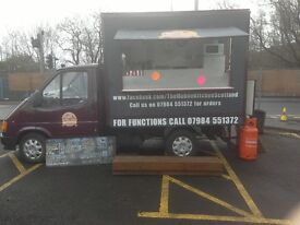 The Mobile kitchen catering van