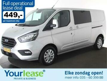 Ford Custom L2H1 170PK Dubbel Cabine 449,- Full Opertional