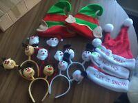 Christmas Headbands and Hats