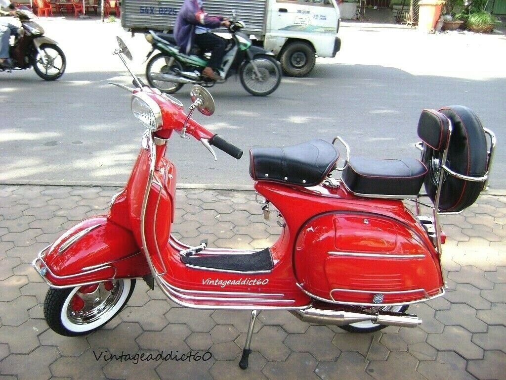 1967 vintage Vespa VLB150 Sprint fully restored FREE SHIPPING with BUY IT NOW.
