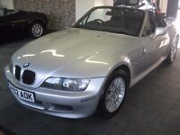 02-02 BMW Z3 1.9 ROADSTER 81K POWER ROOF HPI CLEAR
