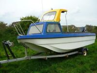 Fishing Boat - 16ft Dory Style (Part Project)