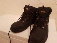 Steel cap work boots size 11