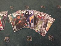 Bulk lot of 34 Doctor Who Comics