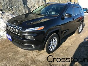 2014 Jeep Cherokee NORTH/HEATED SEATS&WHEEL/BLUETOOTH/3.2L AWD