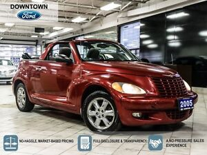 2005 Chrysler PT Cruiser Touring, Low mileage Trade in with Car