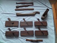 Bundle of vintage planes / woodwork tools