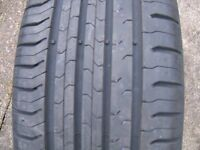 195/50 R15 TYRES X 2...............continental contact 5 - 195/50 R15.......... tyres x 2