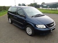 2004 chrysler voyager 2.5 crd 7 seater , long mot