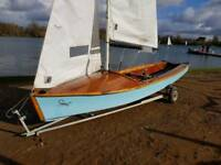 Scorpion Sailing Dinghy 1848 lovely condition
