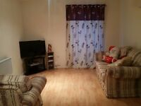 ONE DOUBLE BEDROOM IN A TWO BED FLAT TO RENT