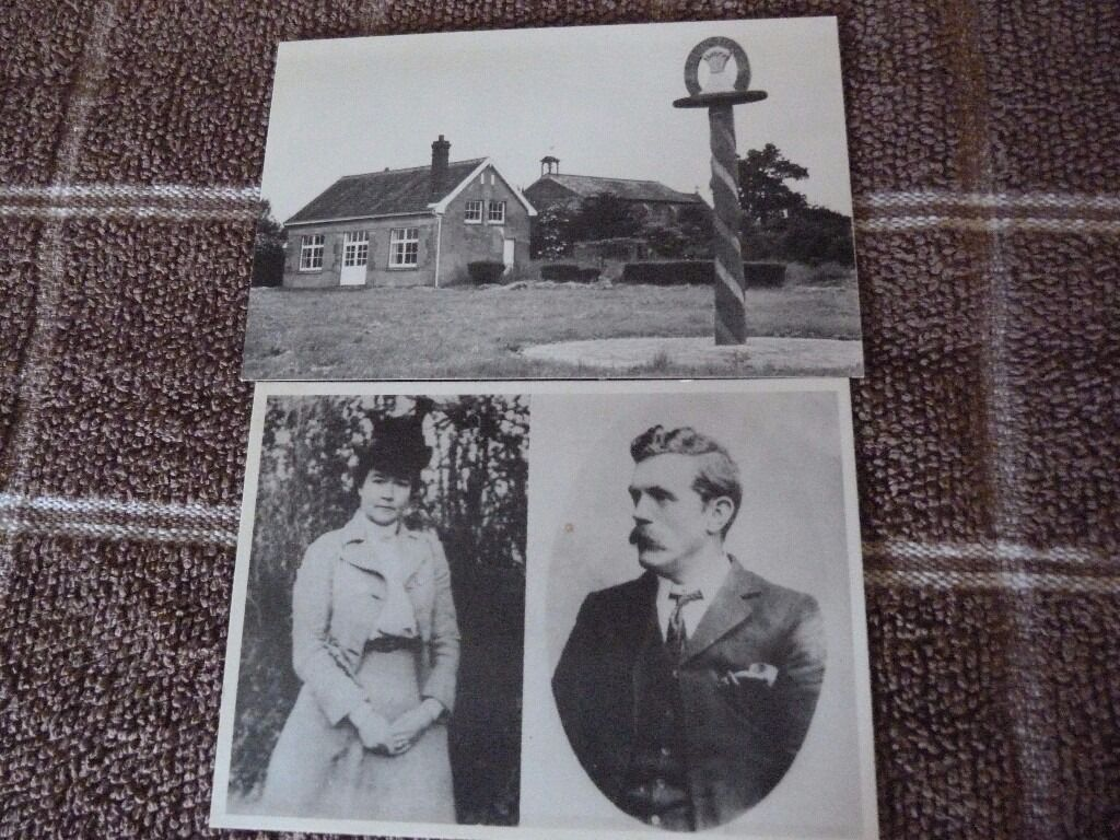 OLD POSTCARDSin Norwich, NorfolkGumtree - TWO OLD POST CARDS DATE UNKNOWN,THIS IS ANNIE AND TOM HIGDON, BURSTON STRIKE SCHOOL, NORFOLK..MAY BE IDEAL FOR A COLLECTOR. COLLECTION OR CAN POST FOR A SMALL FEE