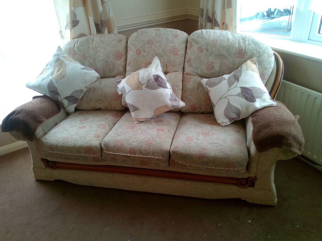 Magnificent Sofa And Matching Chair In Walsall West Midlands Gumtree Gmtry Best Dining Table And Chair Ideas Images Gmtryco