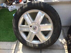 2 Grand Scenic Alloy Wheels