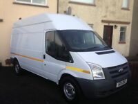 FORD TRANSIT 11 REG, 2.4TD, LWB HIGH TOP, 75K MILES, MOT JULY ,1 OWNER FROM NEW £4195 KILMARNOCK