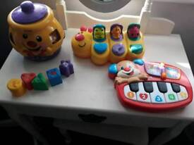 Fisher price toys £4