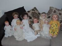 Antique Dolls collection.