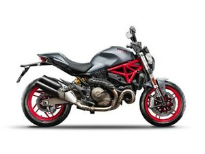 2017 ducati Monster 821 Dust Grey