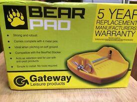 Bear Pad Pro Caravan or campervan steady pads