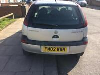 Vauxhall corsa 1.7 di hpi clear