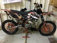Ktm 125 sx 2008 near mint motocross