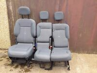 3 seater set for Citroen belingo 2014