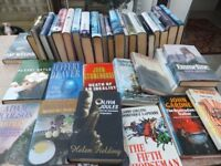 Job Lot, 55 Misc Hardback Books (Fiction) VGC £8 Ideal for resale (Carbooters etc)