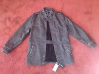 Mens Joobox Trench Jacket Brand New With Tags - Size Medium-Large