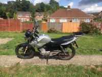 Yamaha ybr 125 perfect little run around
