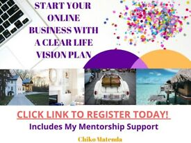 Start Your Online Business with A Clear Life Vision