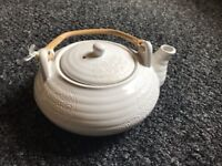 Tea Pot lotus white - Sia Home