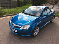 Vauxhall Tigra convertible 1 year MOT