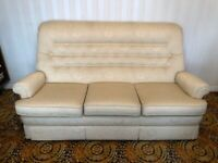 Parker Knoll - Sofa, 2x Arm Chairs & Foot Stool