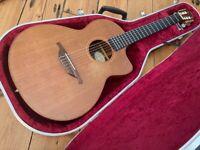 Lowden S25J Jazz Nylon String / Classical Guitar + Hiscox Case 1990s Roadworn