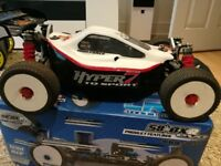 Hobao Hyper 7 (Black Edition) Brushless Buggy complete setup (RC Car)
