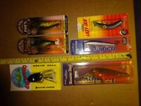 JOB LOT (LOADS) OF FISHING LURES (pike, perch, zander, chub)
