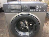 Hotpoint WMFUG742 7kg 1400 Spin Washing Machine in Silver #4914