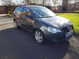 VOLKSWAGEN POLO 1.2 Match 60 5dr (grey) 2009