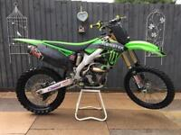 KAWASAKI KXF 2012 EFI AND KXF 250 2014 MODEL