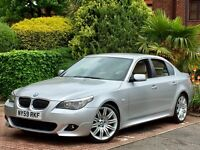 2010 BMW 525d 3.0 M SPORT LCI AUTO-TIP FACE LIFT MODEL INDIVIDUAL SPEC IMMACULATE