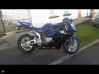 CBR 1000 RR Fireblade. 05. Immaculate condition & loaded with extras. Too many to mention Ring or PM