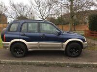 2003 Suzuki Grand Vitara estate. Diesel. 6 months mot £695
