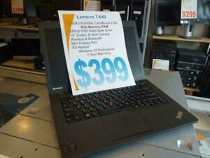 Lenovo T440p - i5 Intel - 240Gb Solid State - 8Gb RAM - 1 Year Warranty - Free Shipping Across Canada - 1 Year Warranty!