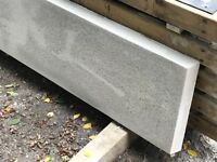 Concrete gravel boards, smooth face, fence panels