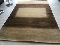 Persian Gabbeh hand woven rug 168x247 cms